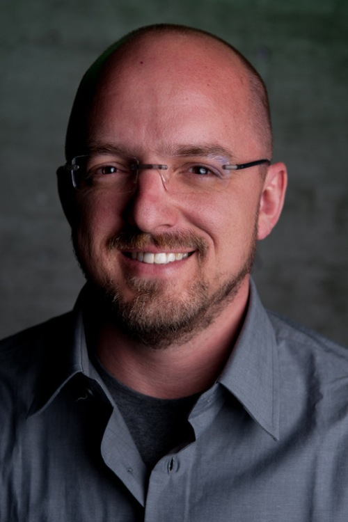 """Figure 1 - David Vonderhaar, one of the principal driving forces behind the blockbuster video game """"Call of Duty""""."""