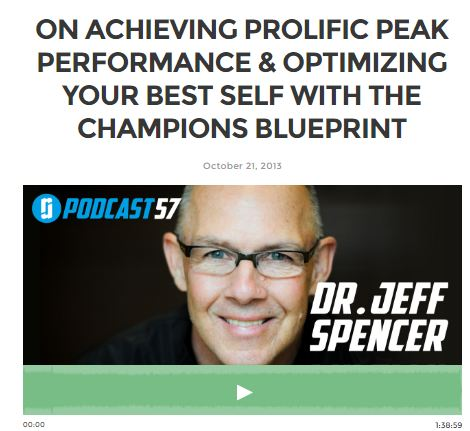 Dr Jeff Spencer