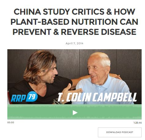Dr T Colin Campbell