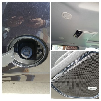 Figure 7 - No gas cap, Bose sound system, 2 overhead screens.