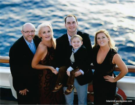 Ken, Toni, Colton, Jett and Sarah