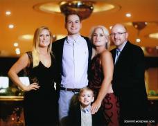 Sarah, Colton, Jett, Toni and Ken